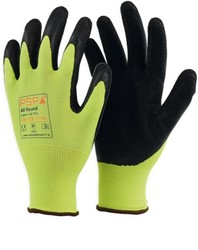 PSP 10-125 Allround Top Latex Lite Werkhandschoen Hi-Vis