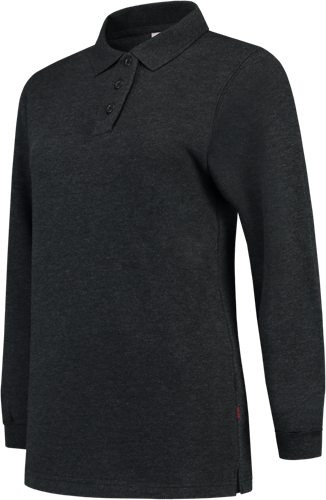 Tricorp PST280 Polosweater Dames -XS-Antraciet Melange