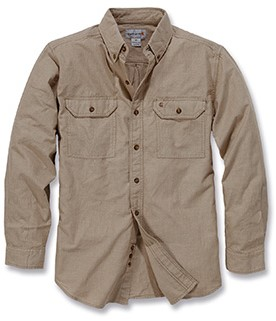 Carhartt Fort Solid Long Sleeve Shirt blouse-1