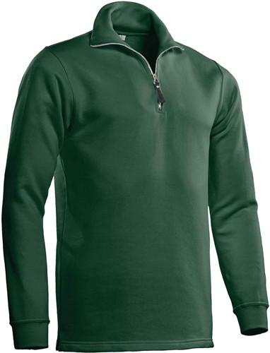 Santino Zipsweater Alex-S-Donker groen