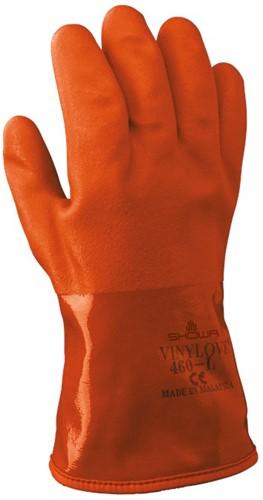 Showa 460 Winterhandschoen PVC Oranje-8-M