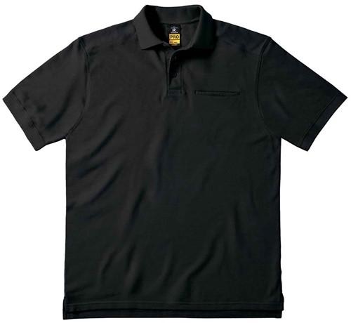 B&C Skill Pro Polo-Zwart-XXL