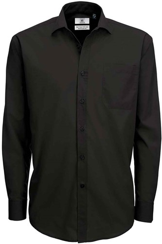B&C BCSMP61 Smart Long Sleeve Heren Overhemd