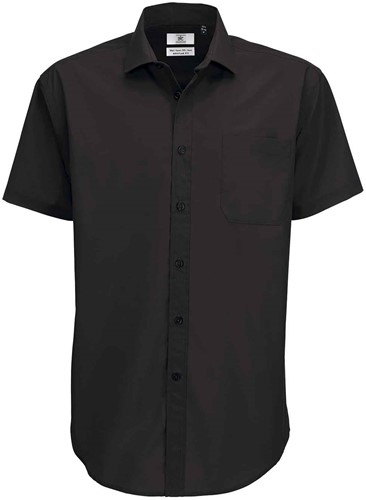 B&C BCSMP62 Smart Short Sleeve Heren Overhemd