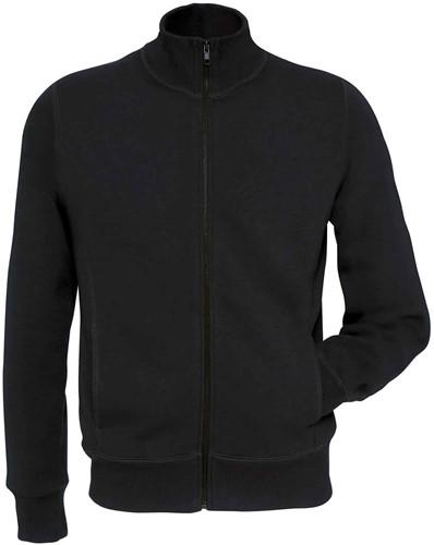 B&C Spider Heren Sweater-Zwart-S