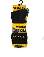 Stanley ST01 Strong Sokken - zwart (2 Paar)-39-42