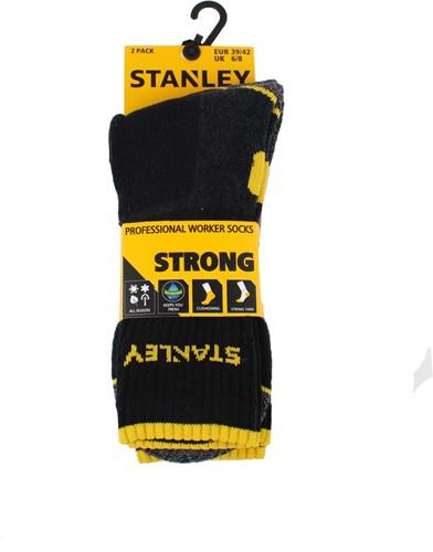 Stanley ST01 Strong Sokken - zwart (2 Paar)-39-42-2
