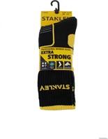 Stanley ST02 Extra Strong Sokken - zwart (2 Paar)-39-42