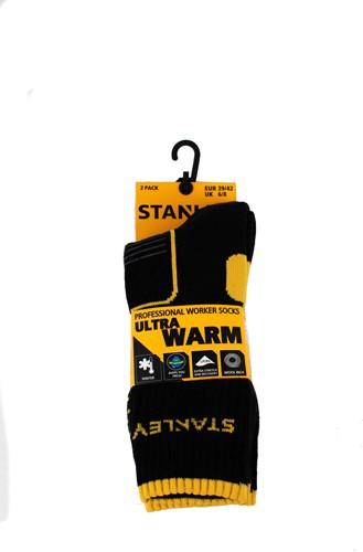 Stanley ST06 Ultra Warm Sokken - zwart (2 Paar)-39-42-2