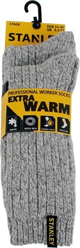 Stanley ST07 Extra Warm Sokken - grijs (2 Paar)-39-42-2