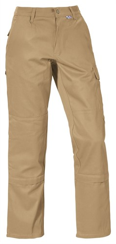 PKA Werkbroek Star 100% BW-Khaki-024