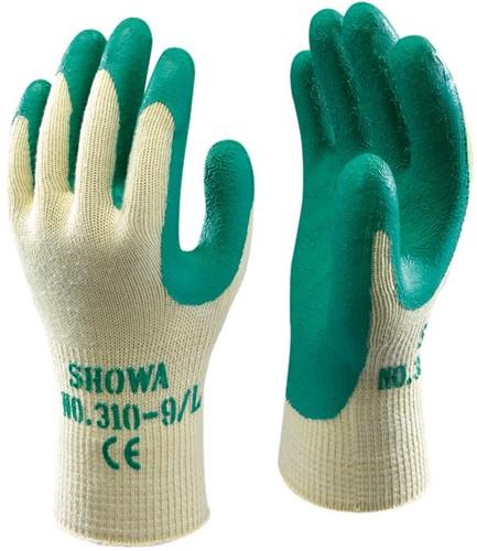Showa 310 Groen Werkhandschoen Latex-6-XS