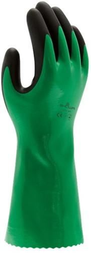 Showa 379 Werkhandschoen Nitrile Groen-8-M