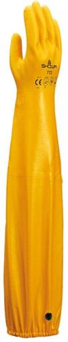 Showa 772 Werkhandschoen Nitrile Geel-8-M
