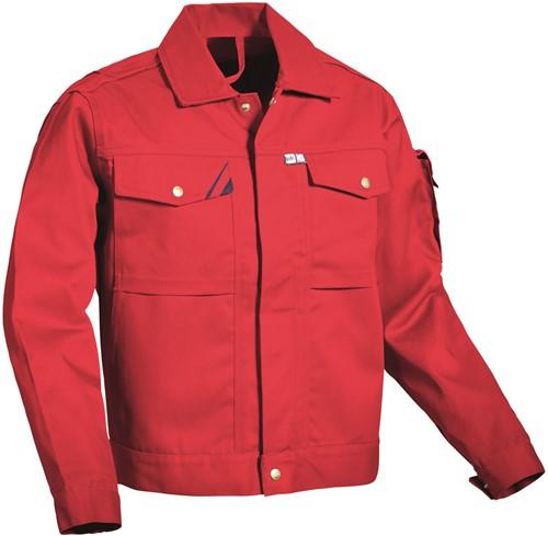 PKA Threeline-Perfekt Werkjas - rood