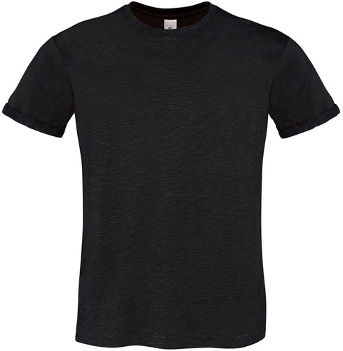 B&C Too Chic Heren T-shirt-S-Chic zwart