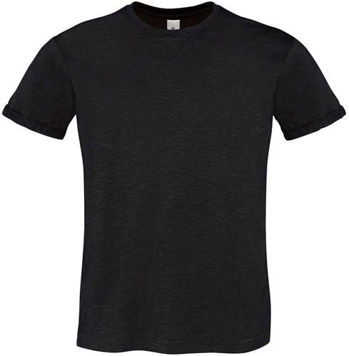 B&C Too Chic Heren T-shirt-S-Chic zwart