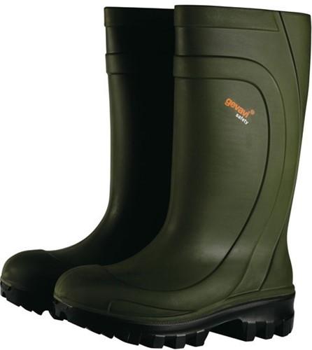 Gevavi Thermotop Veiligheidslaars S4 - groen-41