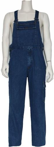 WW4A Tuinbroek jeans 100% Katoen