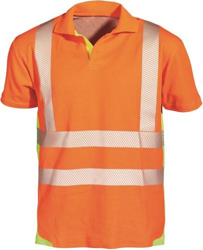 PKA Signaal Polo Shirt - oranje/geel