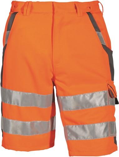 PKA Signaal Korte broek - oranje/grijs