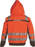 PKA Winter Signaal Parka 3in1-Oranje/Grijs-S-2