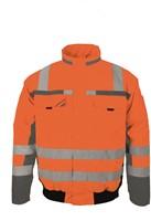 PKA Winter Signaal Pilotenjas 3in1-Oranje/Grijs-S-1