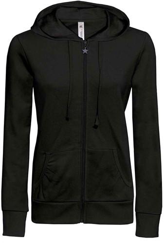 B&C Wonder Dames Sweater-Zwart-XS