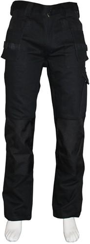 WW4A Werkbroek 100% Katoen - Zwart