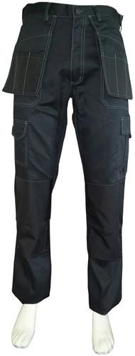 WW4A Werkbroek Polyester/Katoen - Zwart