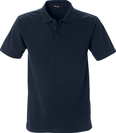 Acode Heren luxe stretchpolo-S-Donker marineblauw