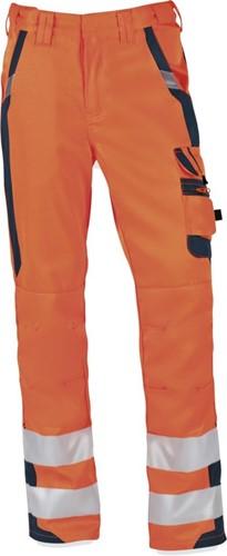 PKA Signaal Werkbroek - oranje/grijs-Oranje/Grijs-024