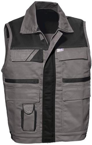 PKA Threeline-Image-Vest-Grijs/Zwart-S