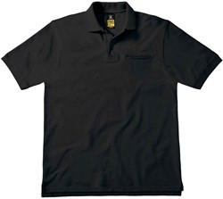 OUTLET! B&C Energy Pro Polo - Zwart - M