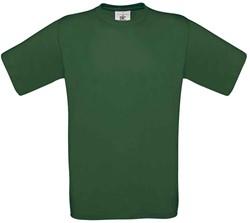 OUTLET! B&C Exact 150 T-shirt - M - Flessengroen