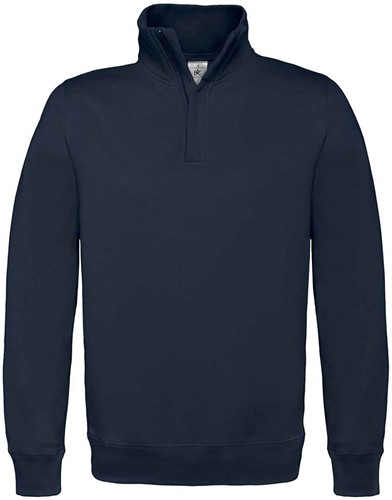 SALE! B&C 1015627 Zip sweater - Navy - Maat L