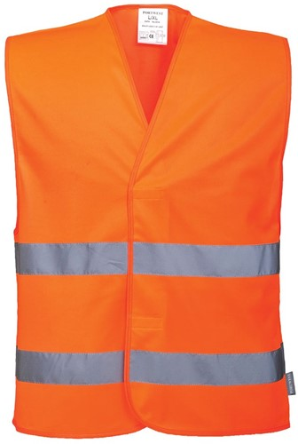 Portwest C474 Hi-Vis 2 Band Vest