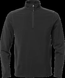Acode Heren superstretch sweatshirt met korte rits
