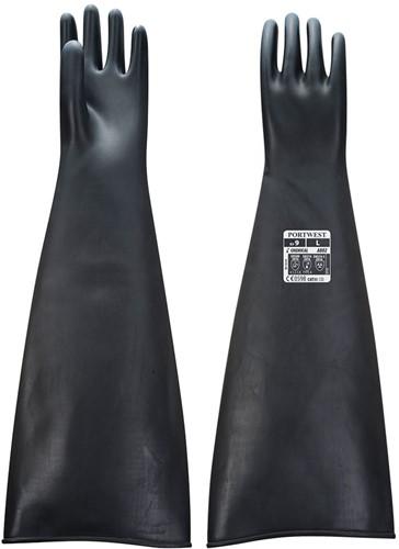 Portwest A803 Heavy Latex Gauntlet  60cm