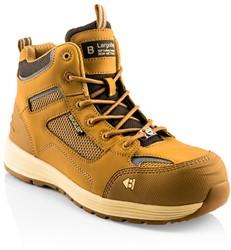 Buckler Boots BAZHY Hoge Veiligheidsschoen S1P - Honey