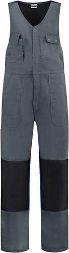 WW4A Bodybroek Katoen/Polyester - Grijs/Zwart - Maat 44