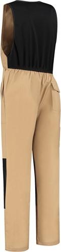 WW4A Bodybroek Katoen/Polyester - Khaki/Zwart - Maat 44-2