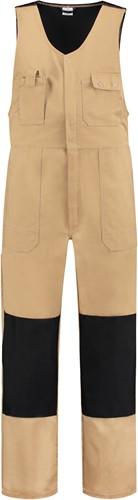 WW4A Bodybroek Katoen/Polyester - Khaki/Zwart - Maat 44