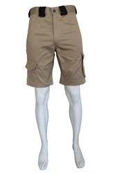 WW4A Bermuda Katoen/Polyester - Khaki/Zwart