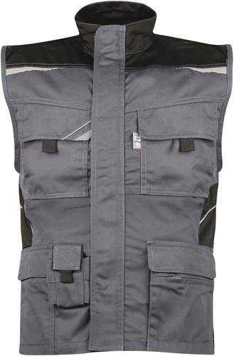 PKA Bestwork Vest-Grijs/Zwart-S