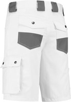 WW4A Bermuda Katoen/Polyester - Wit/Grijs - Maat 42