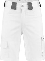 WW4A Bermuda Katoen/Polyester - Wit/Grijs