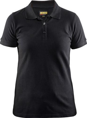 SALE! Blaklader 33071035 Dames Poloshirt Piqué - Zwart - Maat M