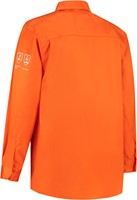 WW4A Blouse vlamvertragend AS - Oranje-2
