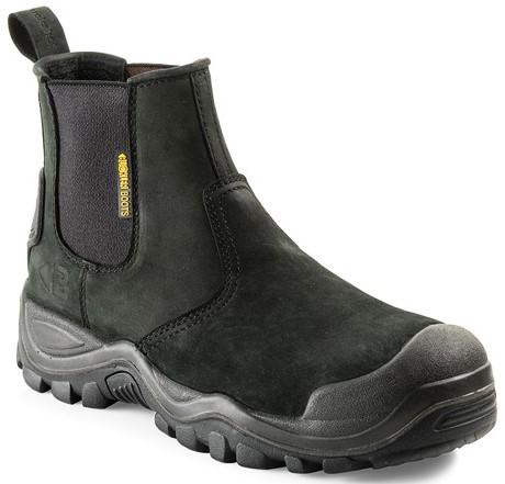 Buckler Boots Instapper BSH006BK S3 + KN - Zwart